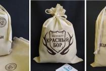 Упаковка из хлопка для экоигрушек с логотипом