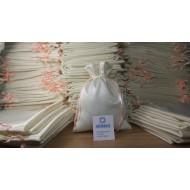 Мешочки из декоративной ткани с атласным блеском