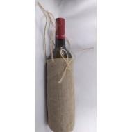 Упаковка из льна для подарочного алкоголя