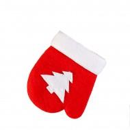 Новогодние рукавички из флиса