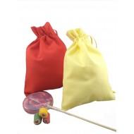 Экоупаковка из цветной бязи для детских утренников, бонбоньерок, на день рождения