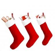 Новогодние носочки из флиса