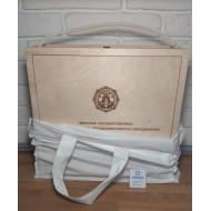Сумка для упаковки коробки из дерева